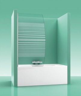 Mampara de bañera PAB Abatible 100