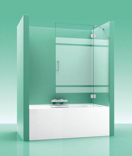 Mampara de bañera PAB Abatible 200