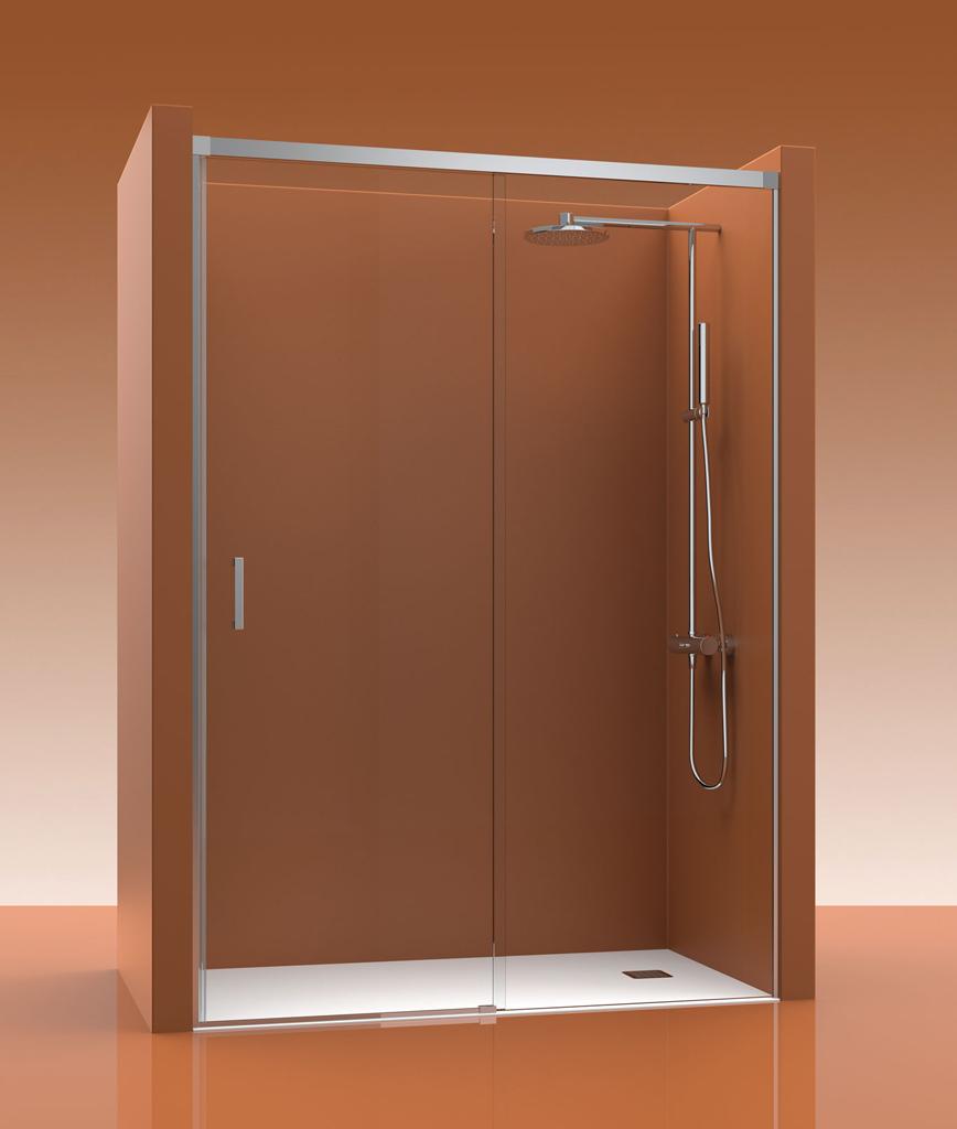 Mampara de ducha castel cosmos 100 for Mamparas de ducha serigrafiadas