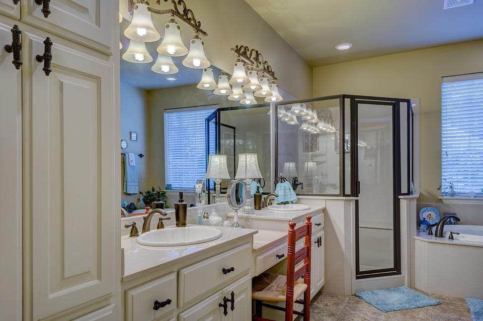 mueble de baño mamparas de bañera