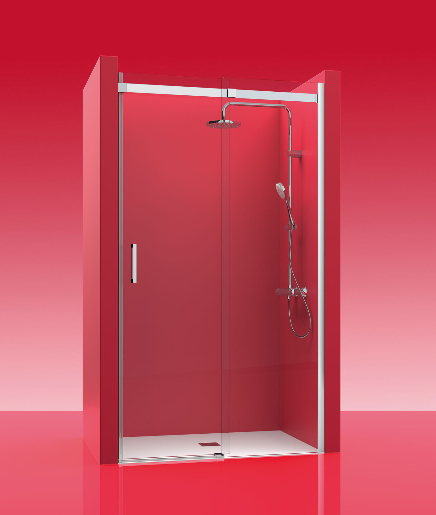 Mamparas duchas baratas mampara de ducha fijo puerta - Mamparas plato ducha baratas ...