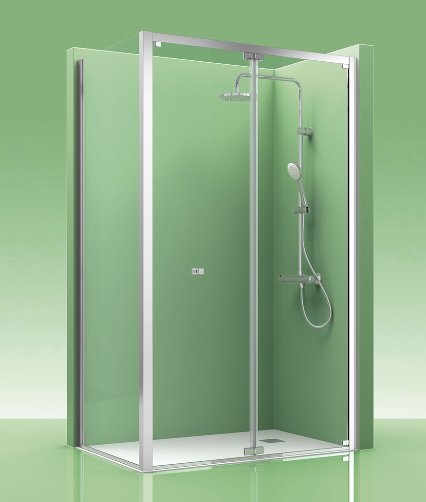 Mampara de ducha castel duplex 400 for Mamparas de ducha 70x70