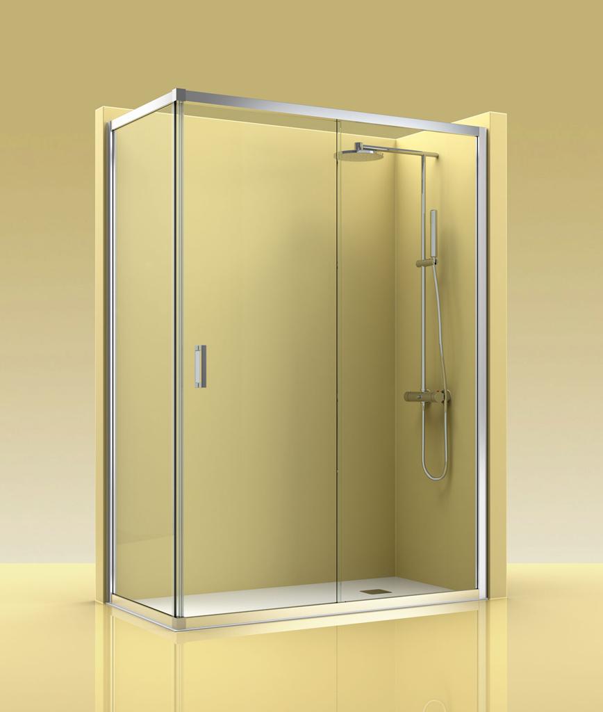 Mampara de ducha castel eco 400 - Mamparas ducha online ...
