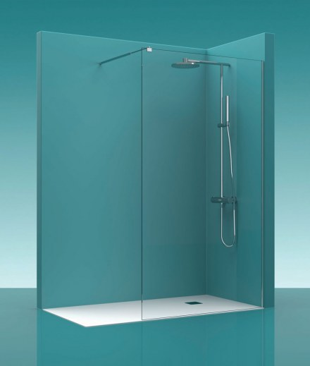 Mampara de ducha Castel Walk-in 100