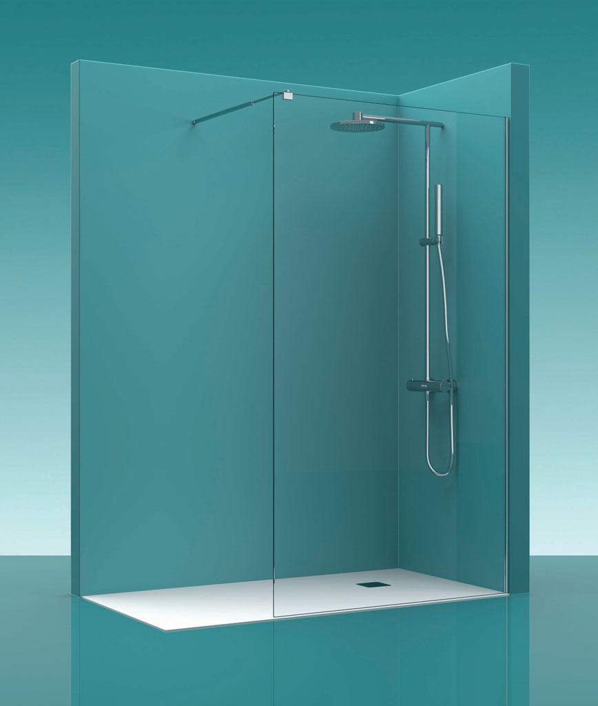 Mampara de ducha castel walk in 100 - Mamparas ducha online ...