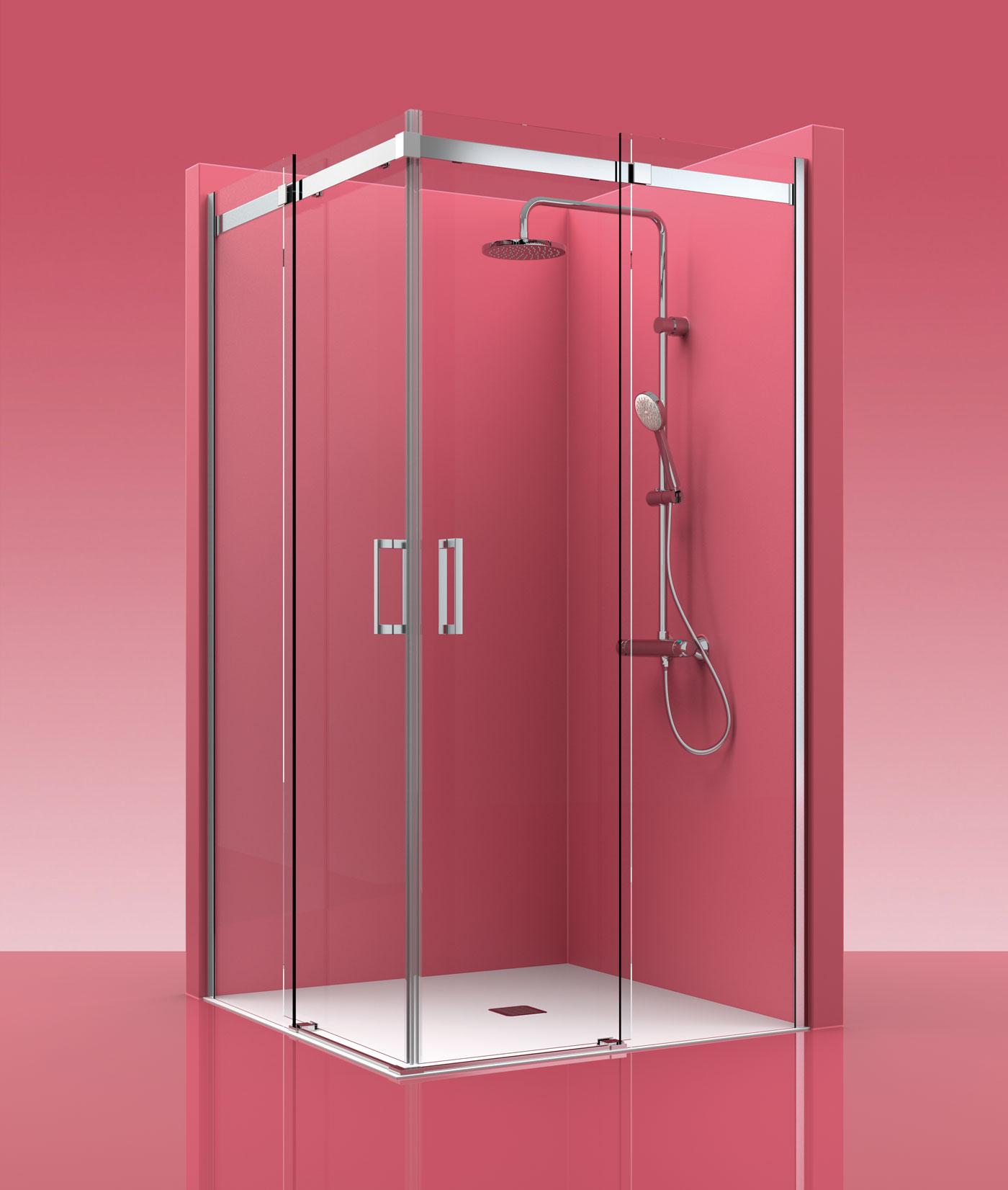 Mampara de ducha castel elegant 300 for Mamparas ducha barcelona