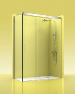 mampara de ducha Castel Trebol 400 tusmamparas valencia castellon alicante
