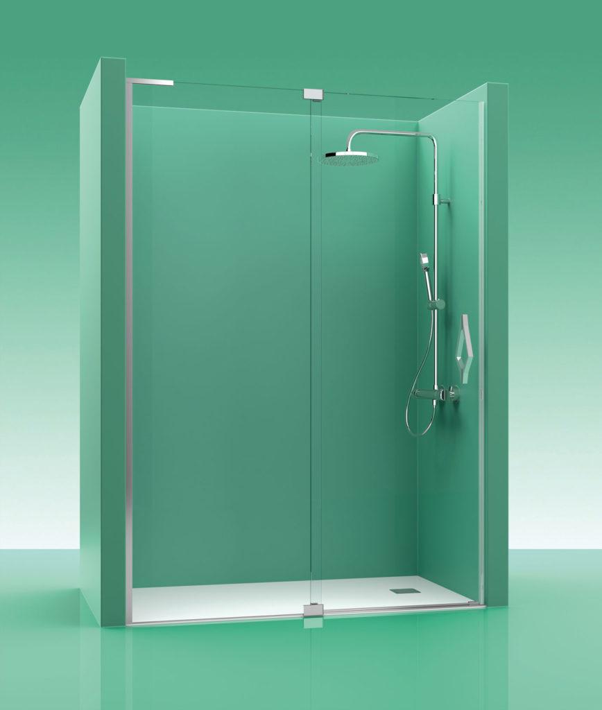 Mampara de ducha castel abate 100 - Mamparas ducha online ...