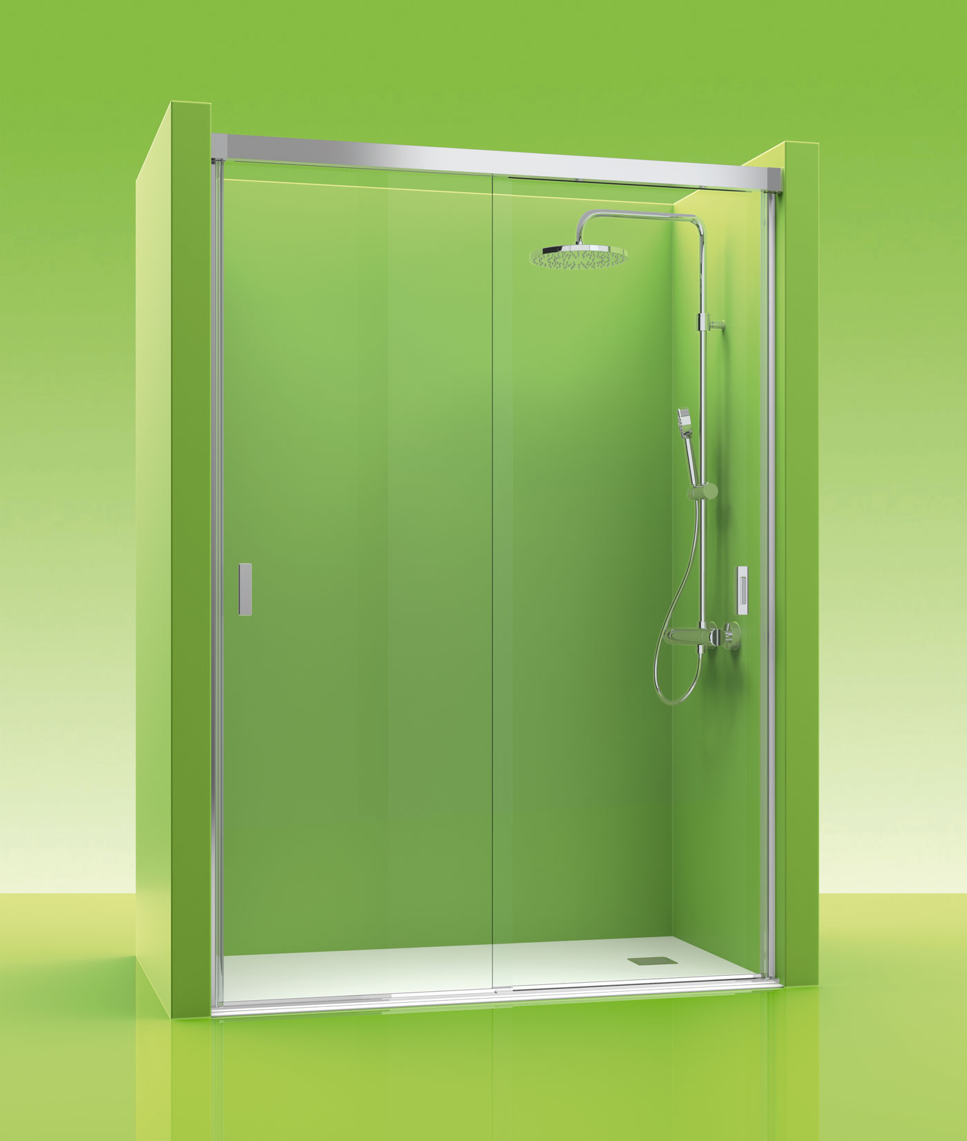 mampara de ducha castel double 100 tusmamparas valencia