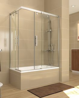 mampara de bañera Decorban circonio tusmamparas valencia castellon alicante