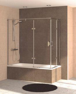 mampara de bañera Decorban Topacio tusmamparas valencia castellon alicante