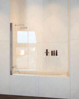 Mampara de bañera panel abatible Doccia Hanoi tusmamparas valencia