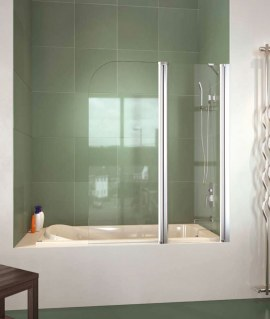 Mampara de bañera panel abatible Doccia Nagoya