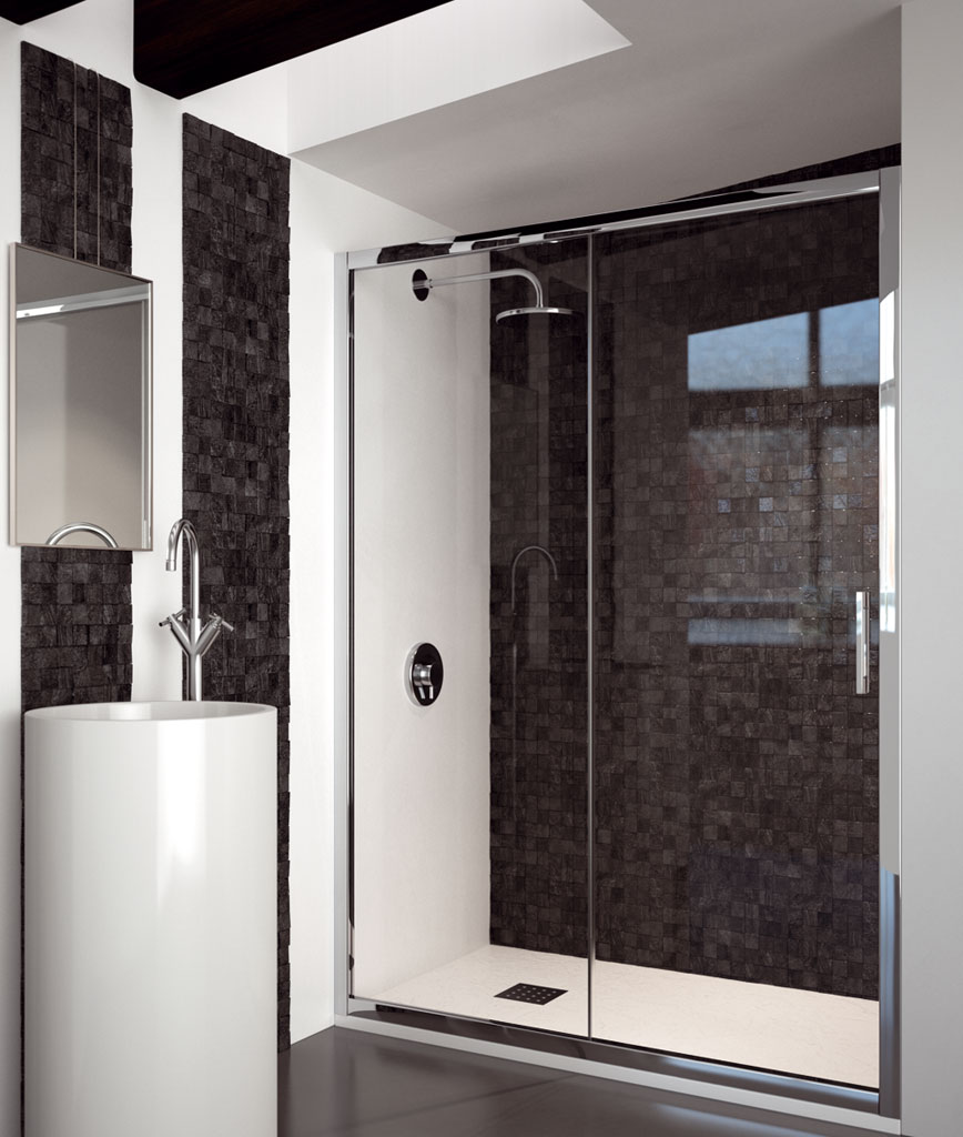 Mampara de ducha doccia quito for Mamparas de ducha economicas