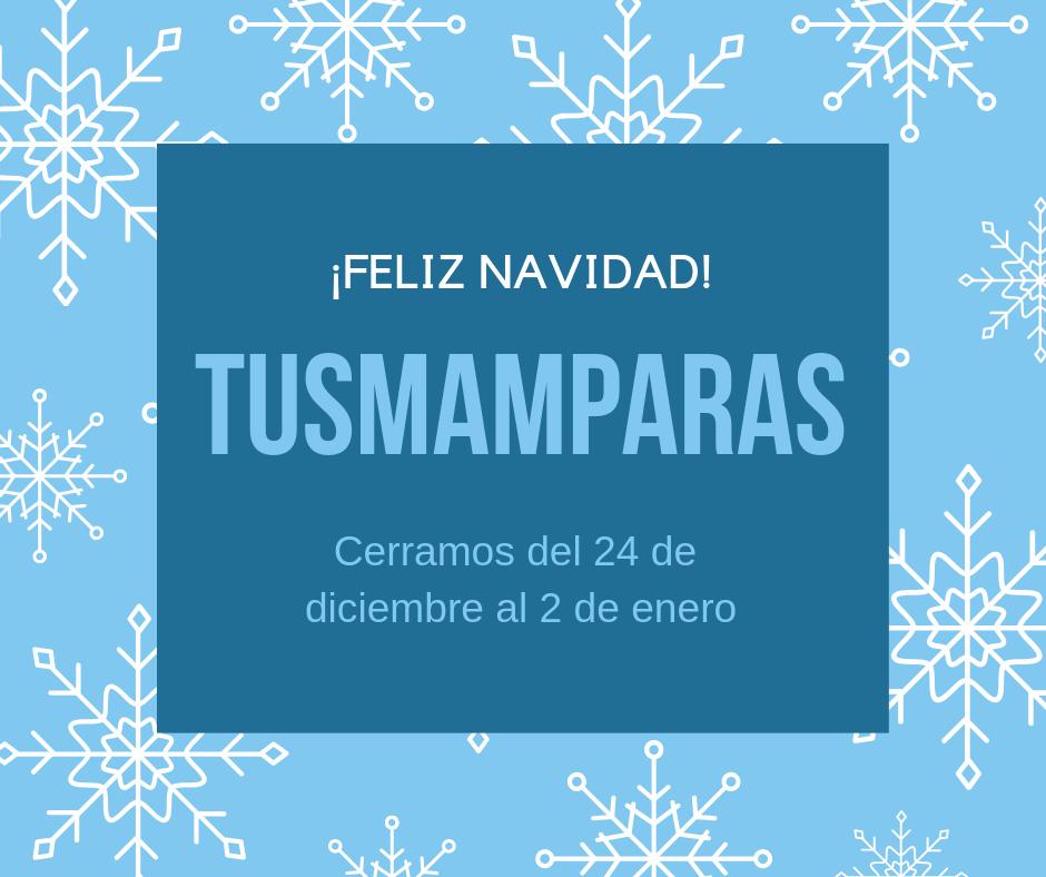 Feliz Navidad 2018 tusmamparas valencia 2