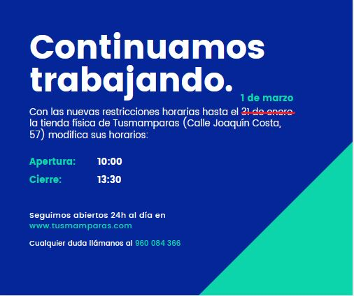 tusmamparas horario 1 de marzo 2021 medidas covid comunidad valenciana valencia