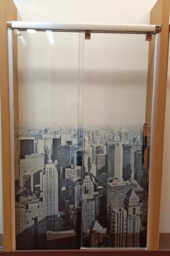 LIQUIDACIÓN: Mampara de ducha MODELO VETRO – 125 cm