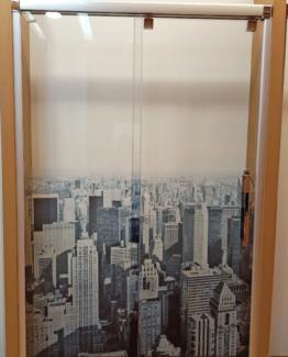 mampara de ducha VETRO 135 cm tusmamparas valencia liquidacion nueva york rascacielos