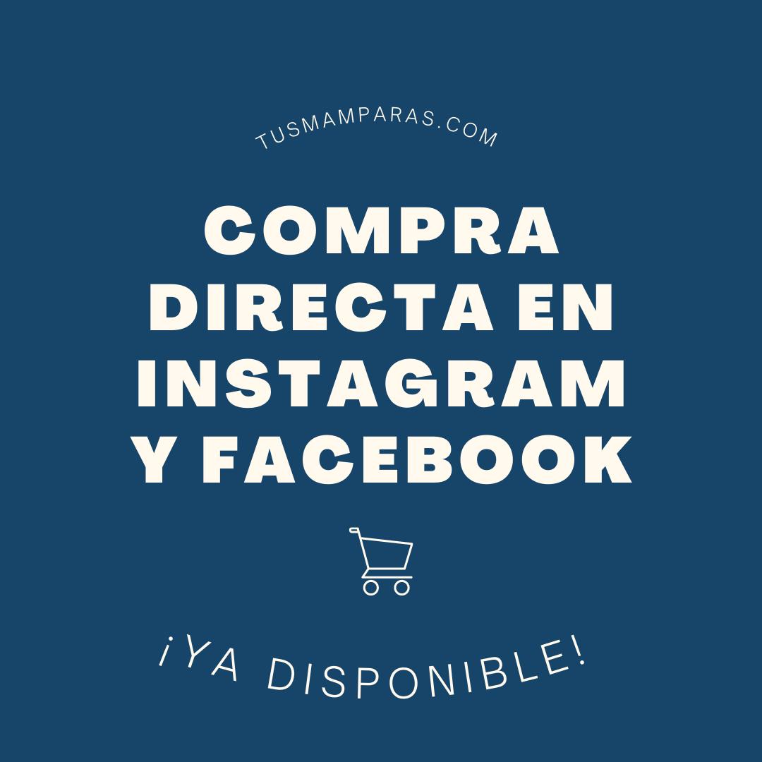 ¡Habilitamos la compra directa en Facebook e Instagram!